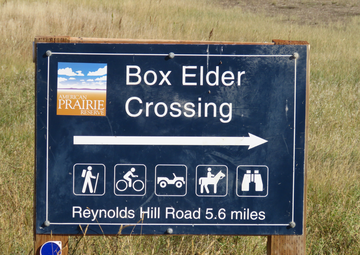 Box Elder Crossing- taking off the training wheels